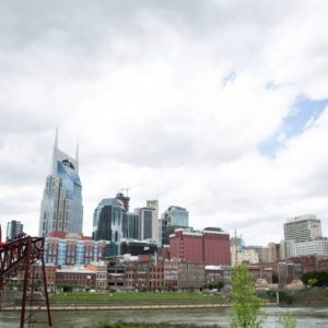 Downtown Nashville Cloudy Timelapse