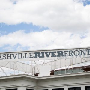 Nashville River Front Sign Timelapse