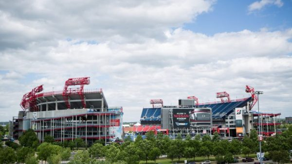 Nissan Stadium Cloudy Day Timelapse