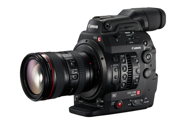 Image shows canon c300 mark 2